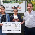 Spenden für die Kindervilla Dorothee