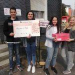 Schüler spenden für Mädchen in Not