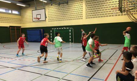 2. Platz beim Basketballturnier!